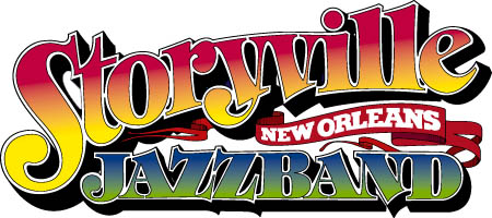 Welcome to Storyville New Orleans Jazzband  - click on a flag!